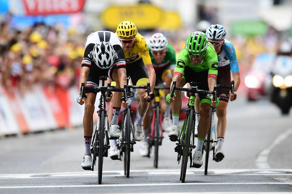 Rigoberto Uran vince la nona tappa del Tour de France 2017
