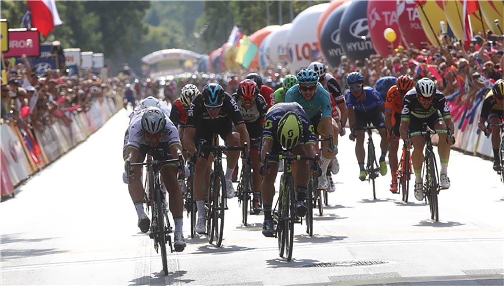 Peter Sagan vince in volata la prima tappa del Tour de Pologne 2017