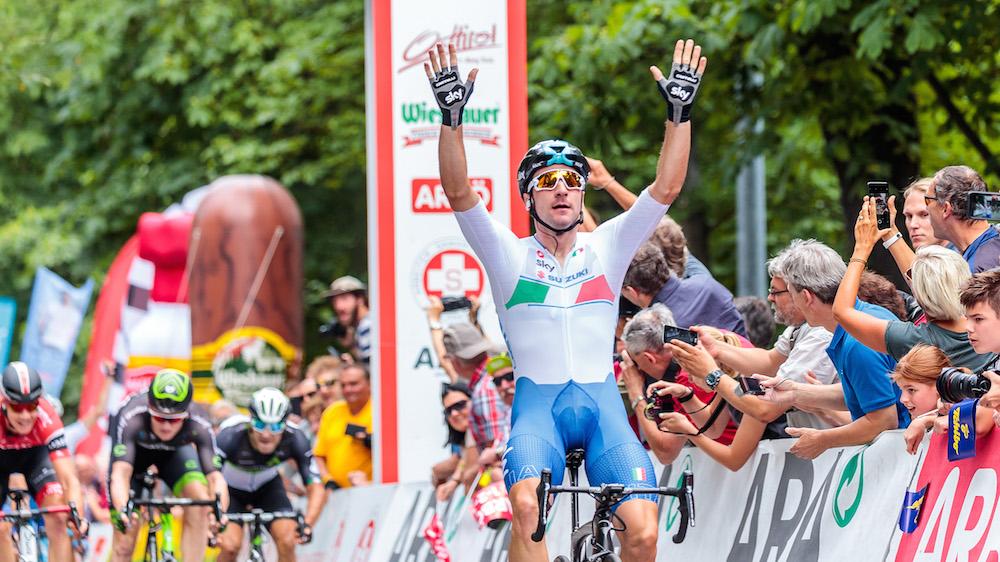 Elia Viviani vince la prima tappa de Giro d'Austria 2017