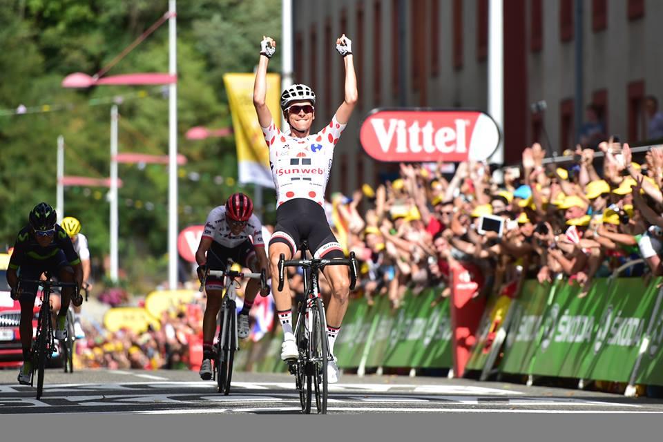 Warren Barguil vince la tredicesima tappa del Tour de France