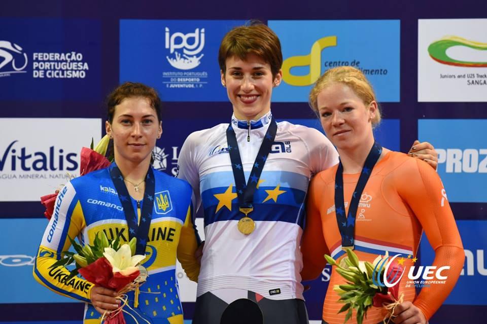 Grabosch Pauline vince l'Europeo dei 500 mt cronometrati Donne Under 23