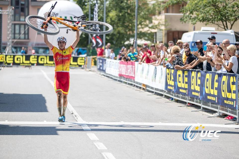 Jofre Cullell Estape vince l'Europeo XCO Juniores