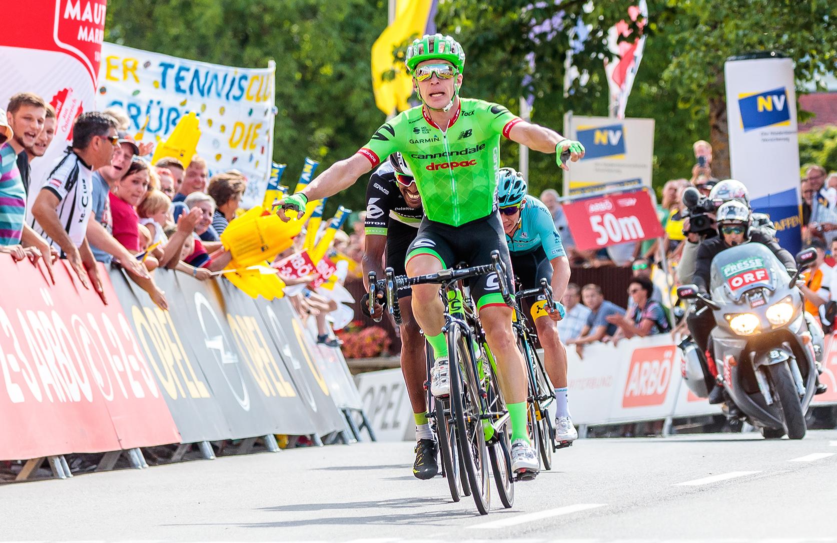 Tom Jelte Slagter vince a Pöggstall la seconda tappa del Giro d'Austria