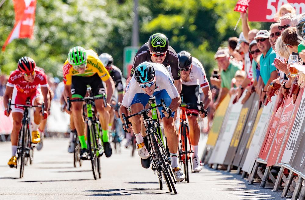 Elia Viviani vince la terza tappa del Giro d'Austria 2017 Elia Viviani vince la terza tappa del Giro d'Austria 2017