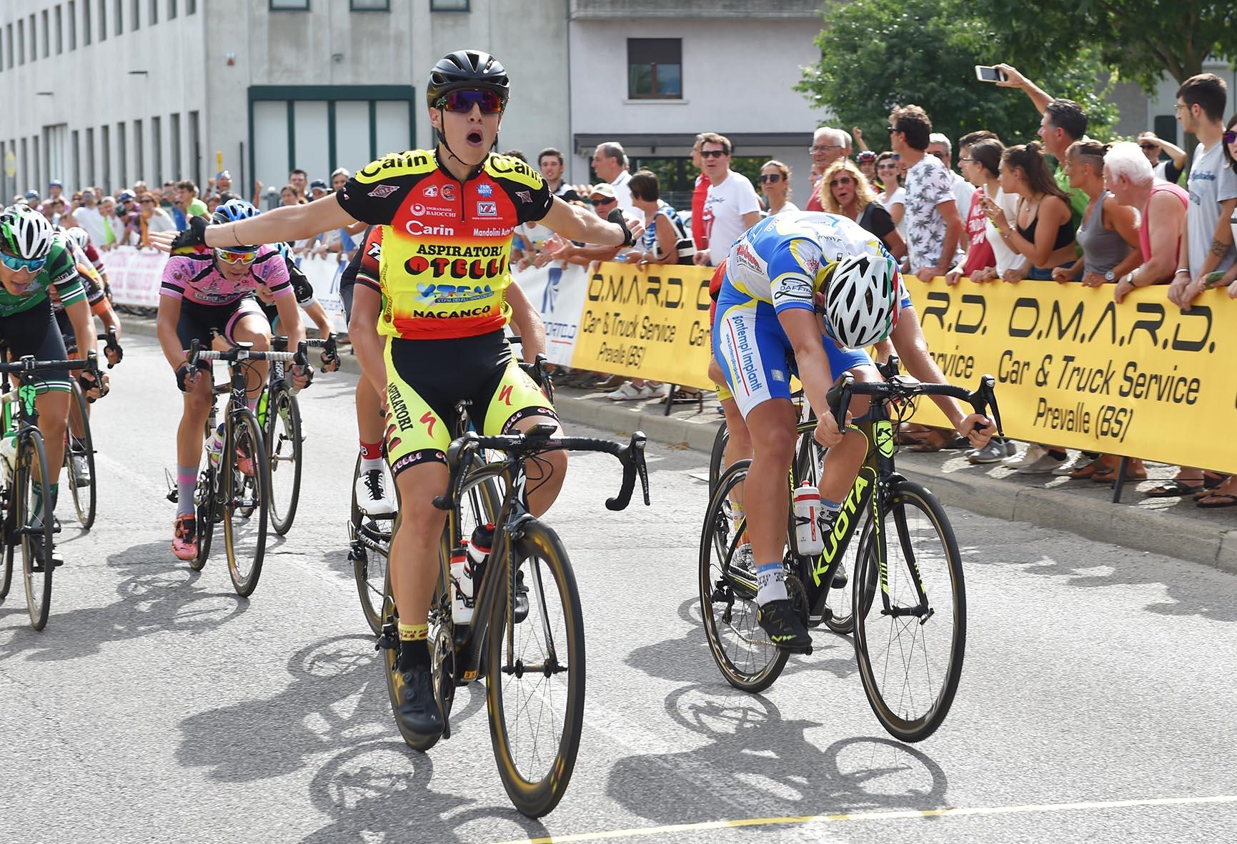 Giuseppe Perino vince a Prevalle