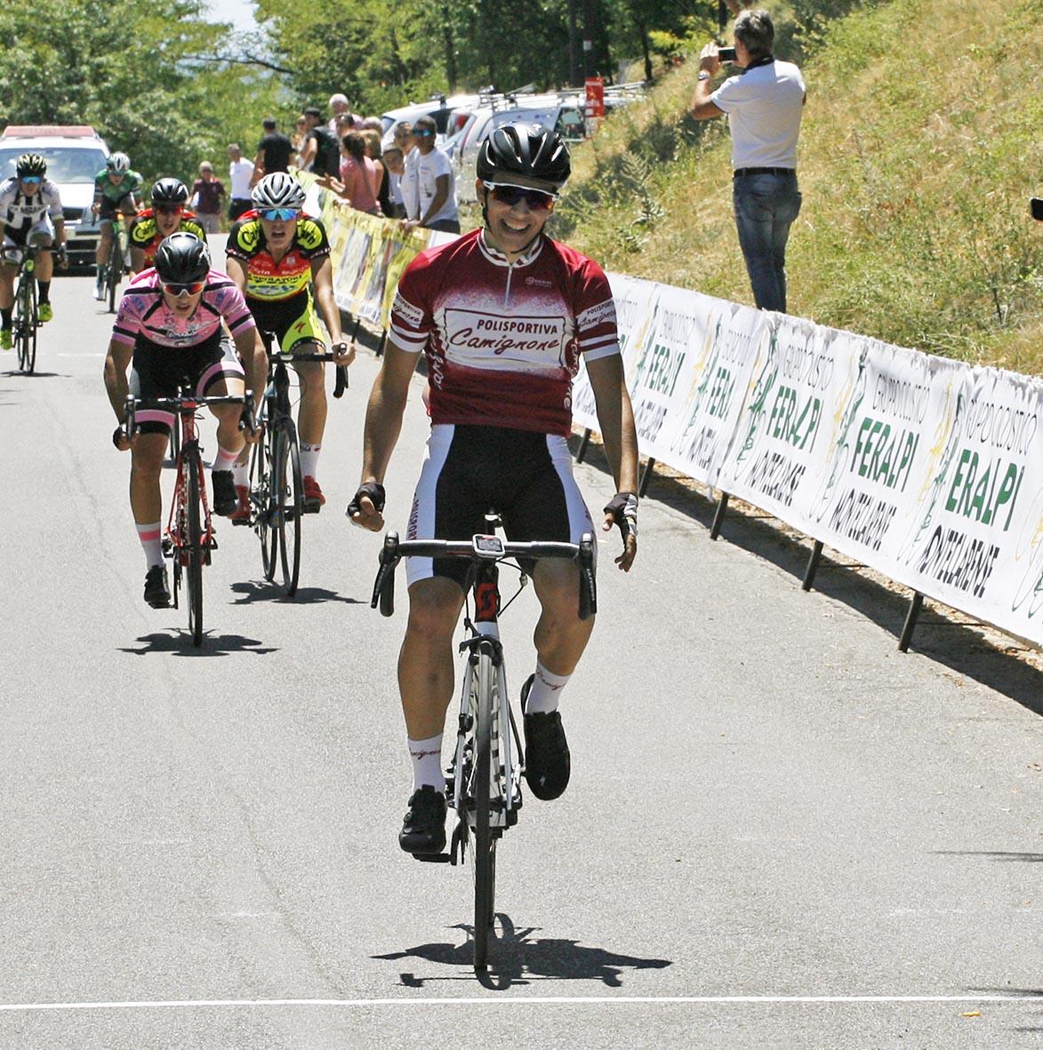 La vittoria di Andrea Gatti tra gli Allievi a Montichiari