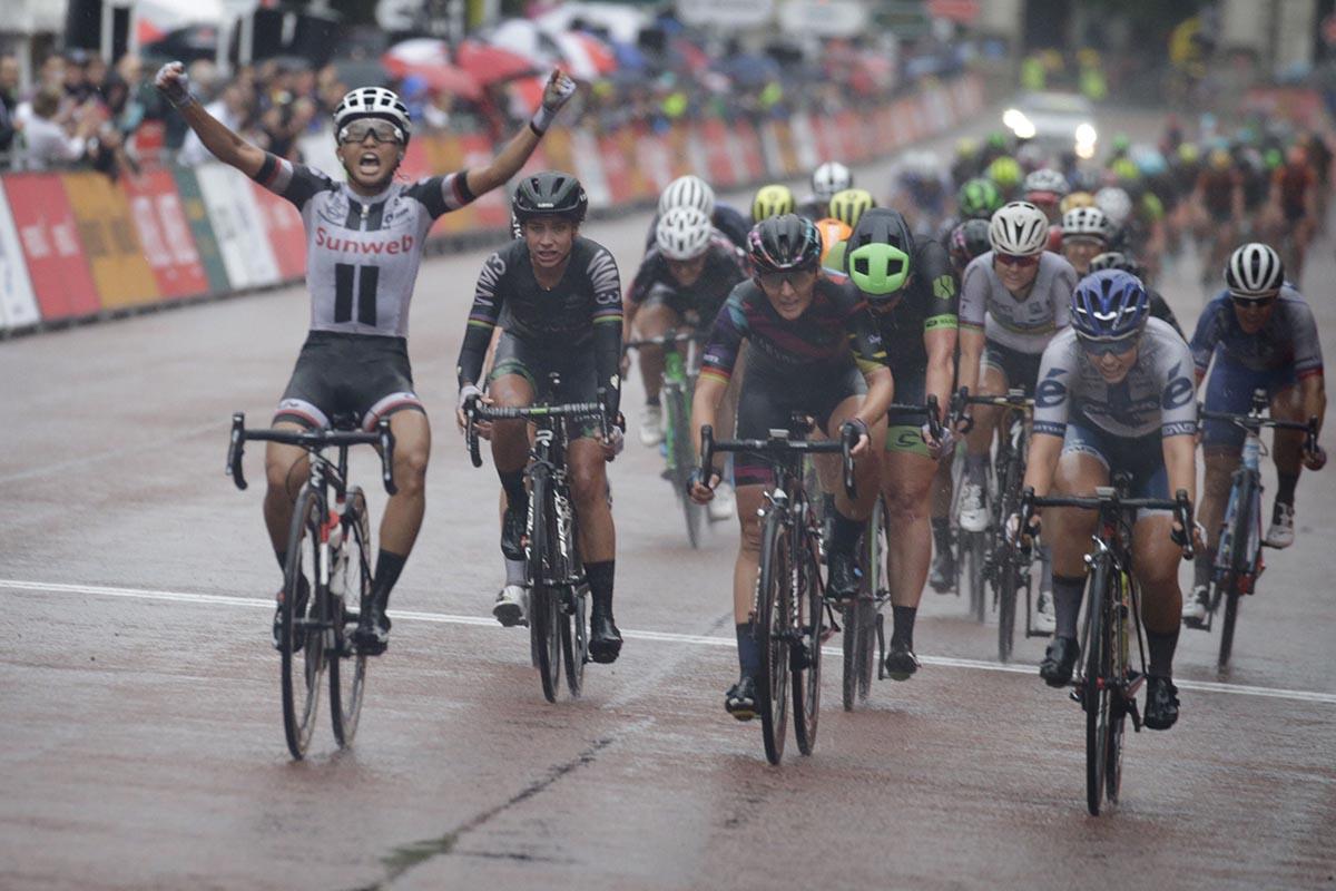 L'americanaCoryn Rivera vince la RideLondon Classique