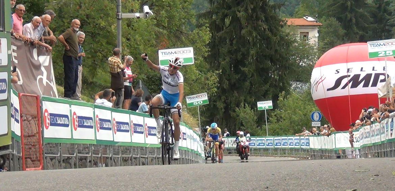 Gabriele Brega vince al Colle Gallo la seconda tappa della 3GIORNIOROBICA 2017
