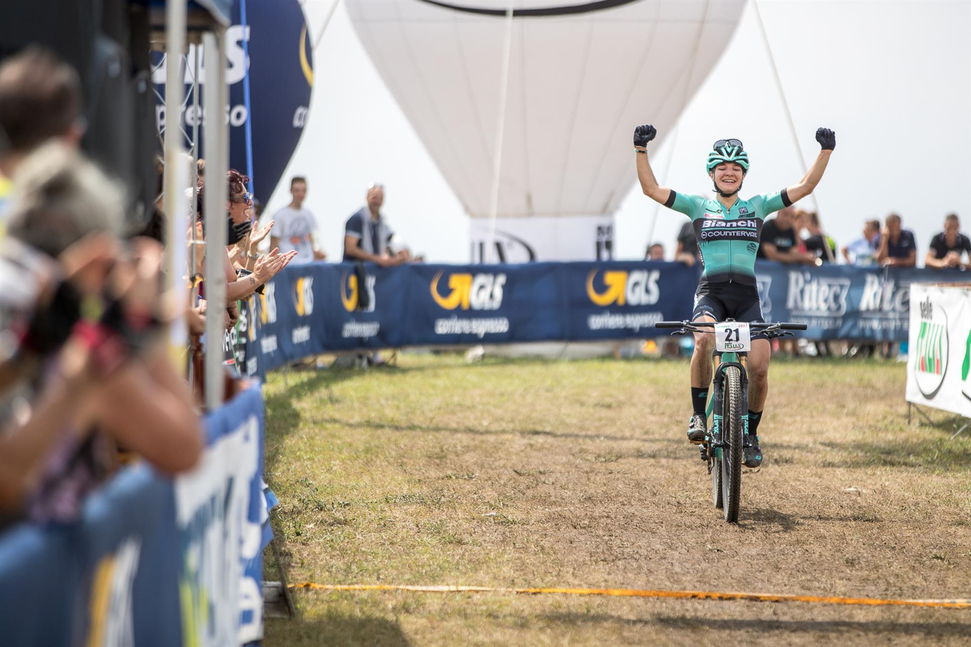 La vittoria di Chiara Teocchi nel Campionato Italiano XCO categoria Donne Under 23 2017