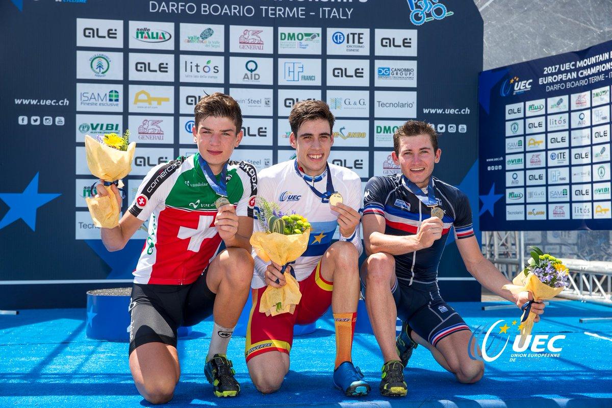 Lo spagnolo Jofre Cullell Estape campione europeo XCO Juniores 2017