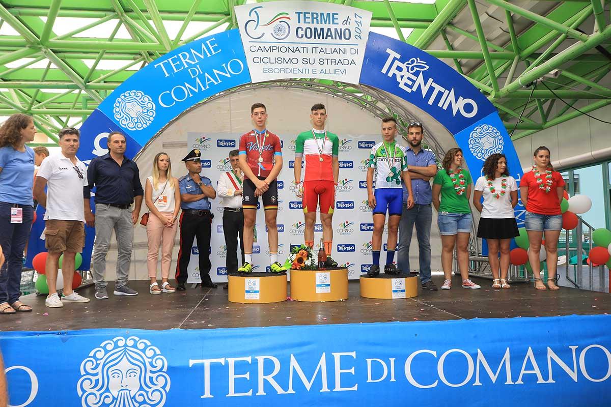 Manuel Oioli vince il Campionato Italiano Esordienti 2° anno a Comano Terme