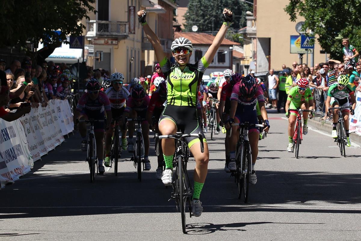 Sara Fiorin vince la gara Donne Esordienti di Gorla Minore