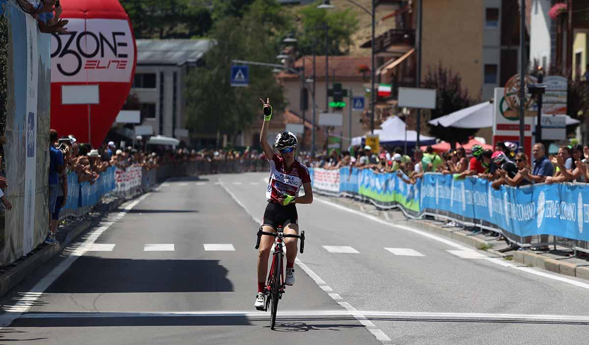 Bis di Francesca Barale a Comano Terme, vince il Campionato Italiano Donne Esordienti 2° anno