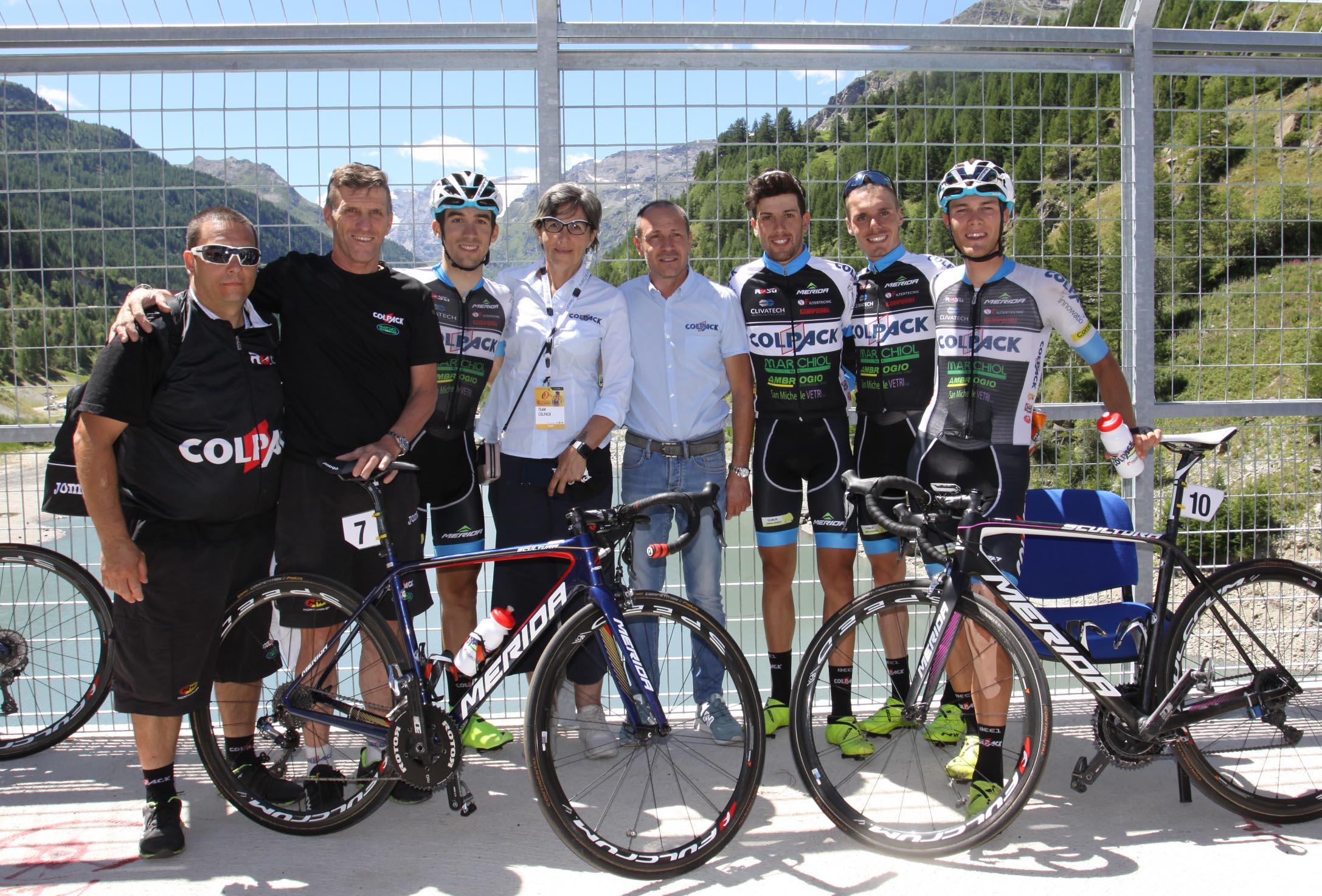 Il Team Colpack chiude in bellezza il Giro della Valle d'Aosta