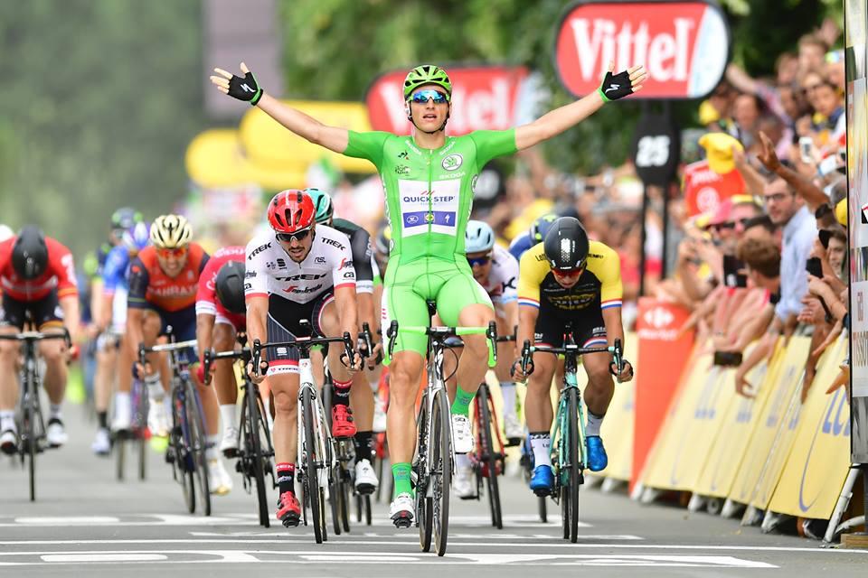 Marcel Kittel vince la decima tappa del Tour de France 2017