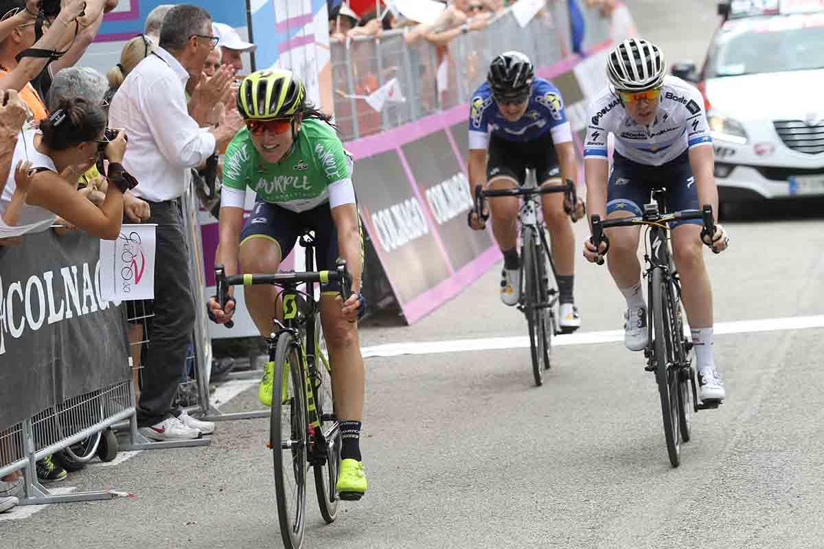 Annemiek van Vleuten vince la seconda tappa del Giro Rosa 2017