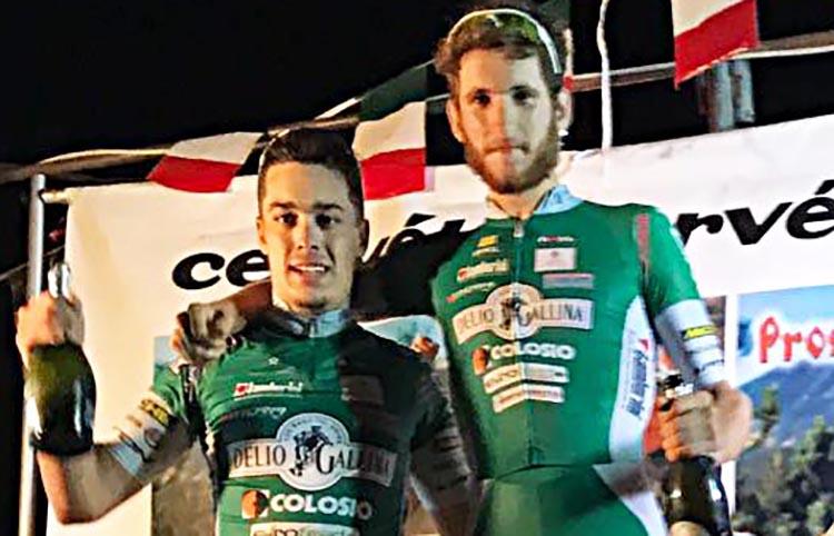 Filippo Tagliani e Thomas Calzaferri, doppietta Delio Gallina a Levane