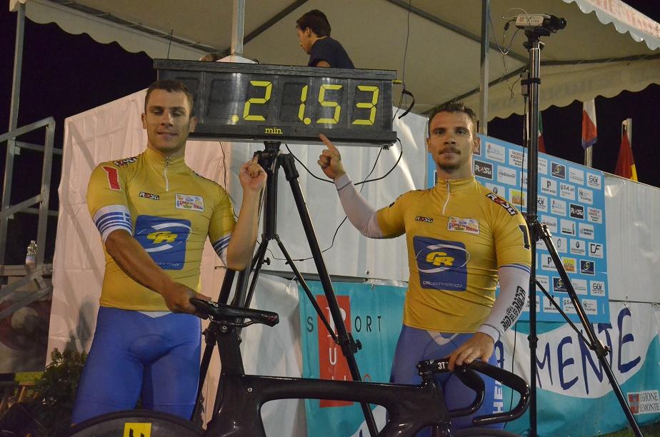 Christos e Zafeiris Volikakis segnano il nuovo record della pista di Torino