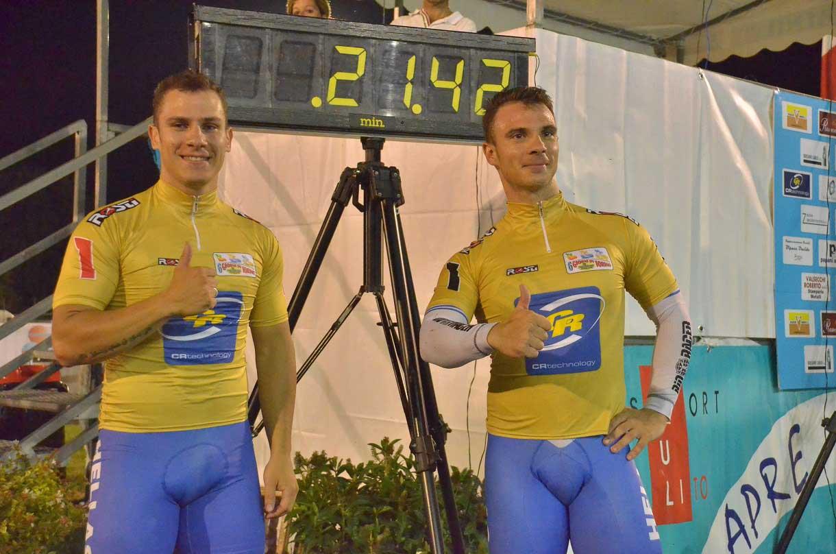 Christos e Zafeiris Volikakis fanno segnare un nuovo record al Velodromo di San Francesco al Campo