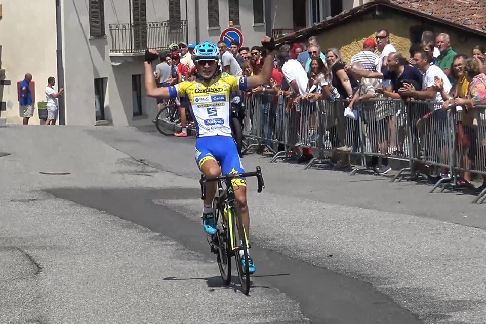 Andrea Bagioli vince la Treviglio-Bracca 2017
