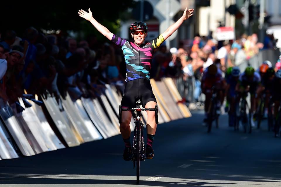 Tiffany Cromwell vince la prima tappa del Thüringen Ladies Tour