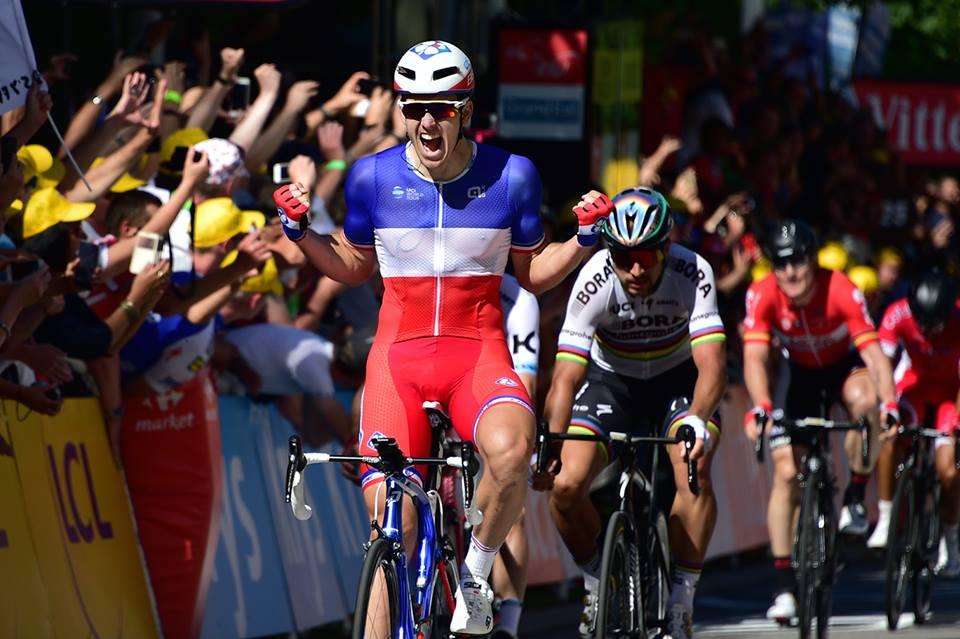 Arnaud Demare vince la quarta tappa del Tour de France 2017