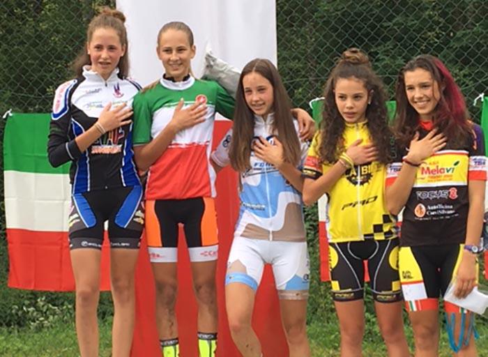 Lucia Bramati campionessa italiana XCO Donne Esordienti 2° anno