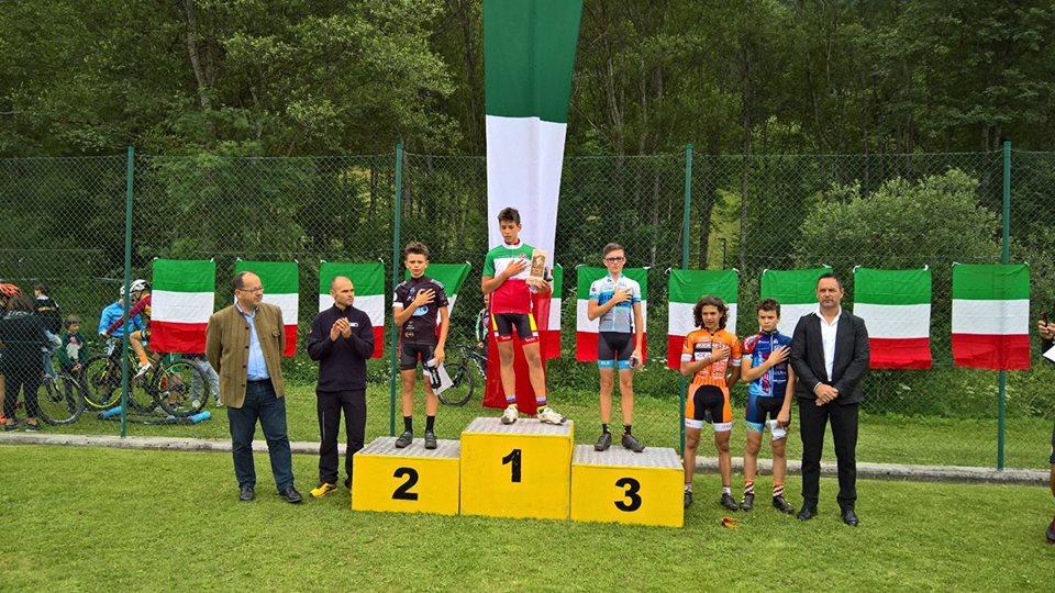 Ivan Franzini campione italiano XCO Esordienti 1° anno