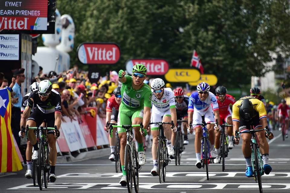 Marcel Kittel vince l'undicesima tappa del Tour de France