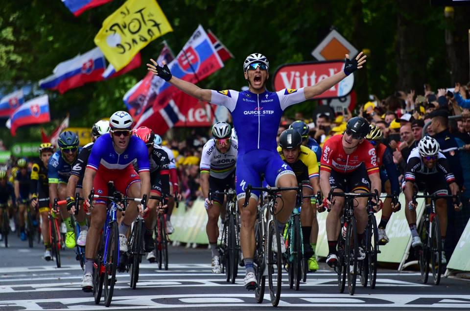 Marcel Kittel vince la seconda tappa del Tour de France 2017