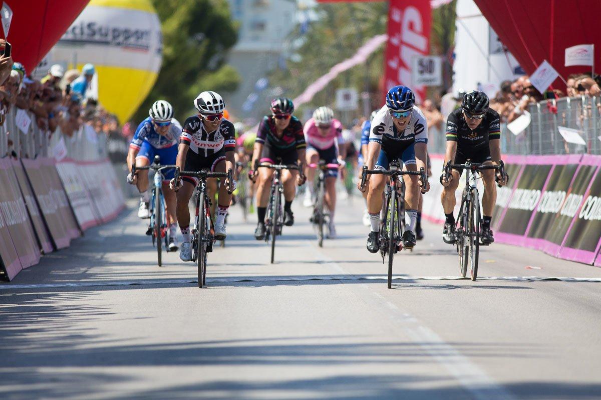 Lotta Lepistö vince la sesta tappa del Giro Rosa 2017
