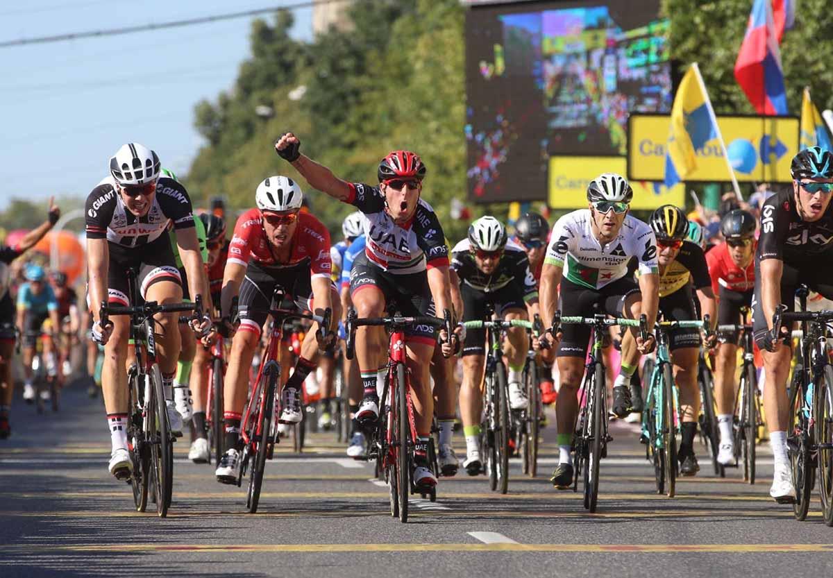 Sacha Modolo vince la seconda tappa del Tour de Pologhe 2017