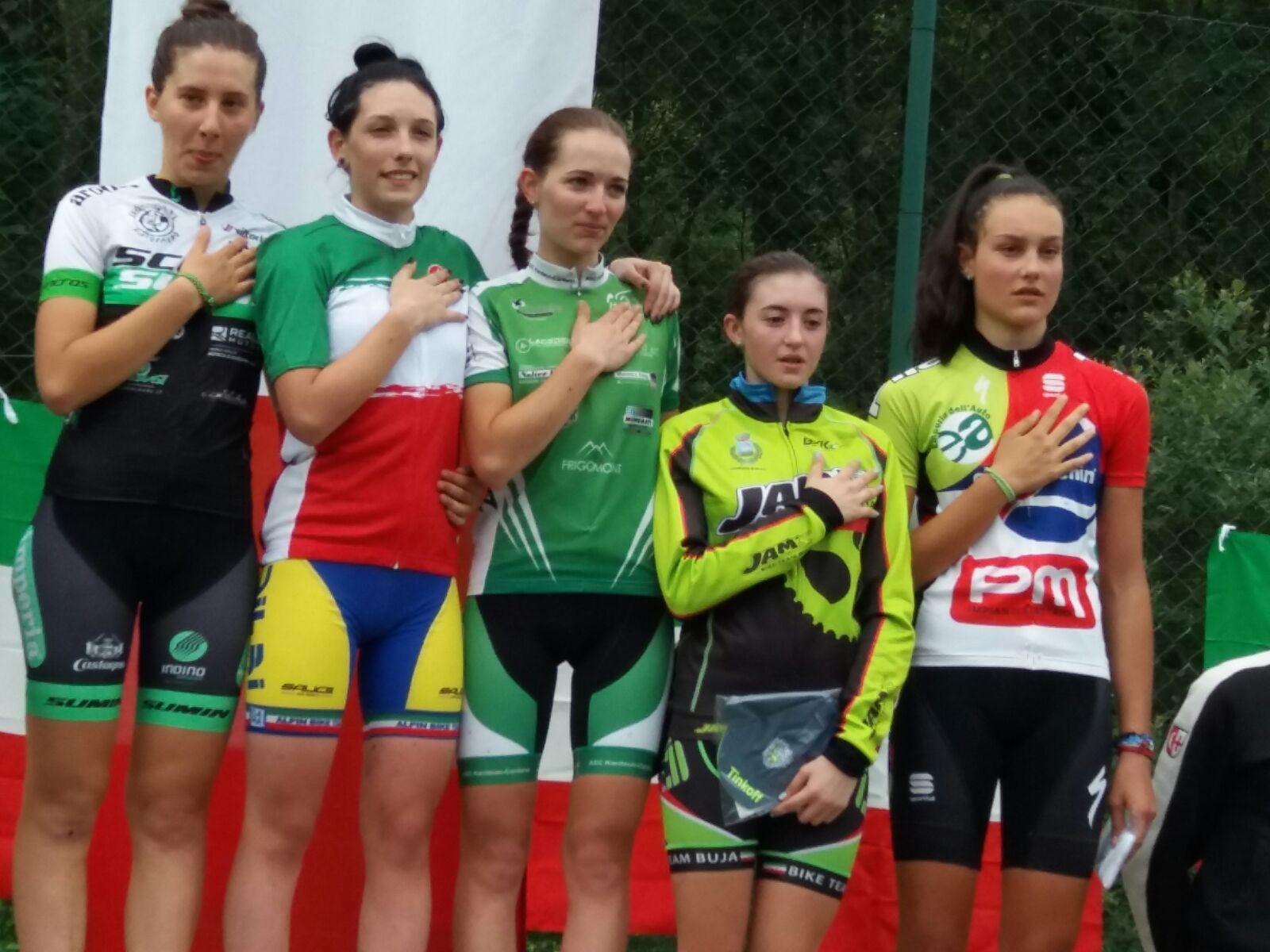 Letizia Motalli campionessa italiana XCO Allieve 2° anno