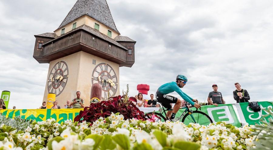 Oscar Gatto vince il prologo del Giro d'Austria 2017