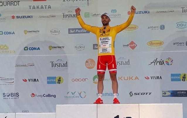 Andrea Palini vince il prologo ed è il primo leader del Sibiu Tour 2017