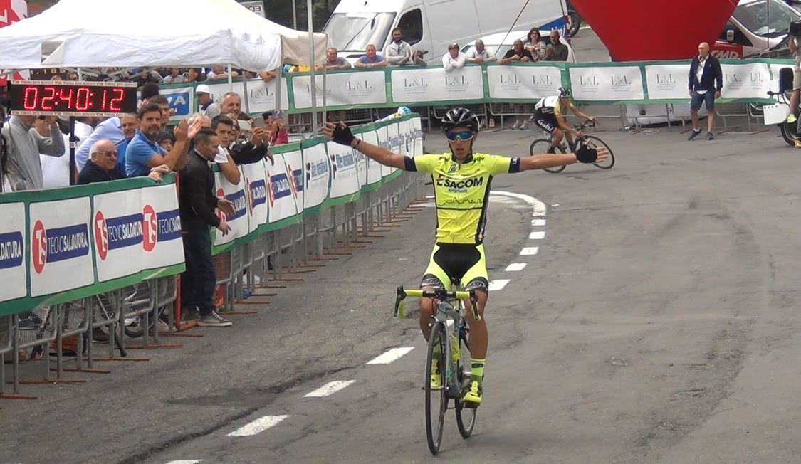 Samuele Rubino vince al Passo Maniva la terza tappa della 3GIORNIOROBICA 2017