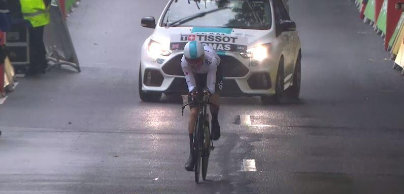 Geraint Thomas vince la prima tappa a cronometro del Tour de France 2017