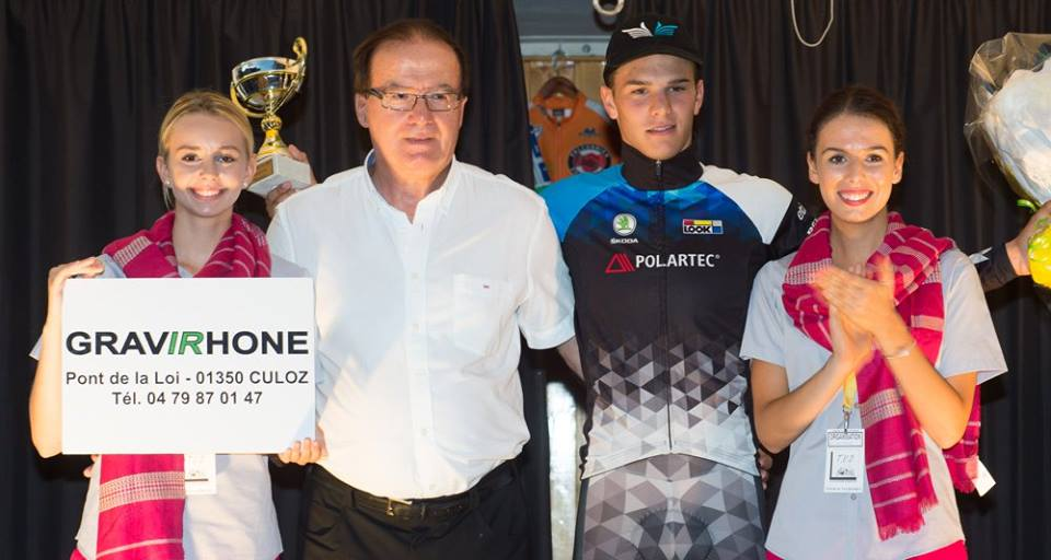Marc Brustenga Masague ha vinto il prologo dell'Ain Bugey Valromey Tour