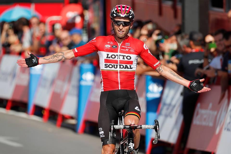 Tomasz Marczynski vince la dodicesima tappa della Vuelta a Espana 2017