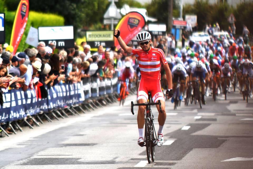 Kasper Asgreen vince la prima tappa del Tour de L'Avenir 2017