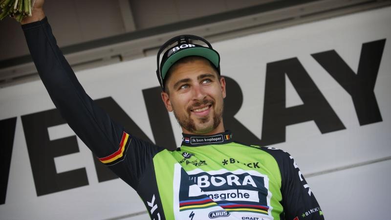 Peter Sagan vincitore della prima tappa e primo leader del BinckBank Tour 2017