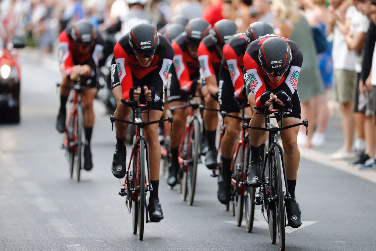 La BMC Racing vine la cronosquadre di apertura de La Vuelta 2017