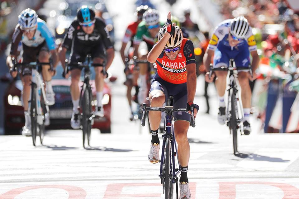 Vincenzo Nibali vince la terza tappa della Vuelta a Espana 2017