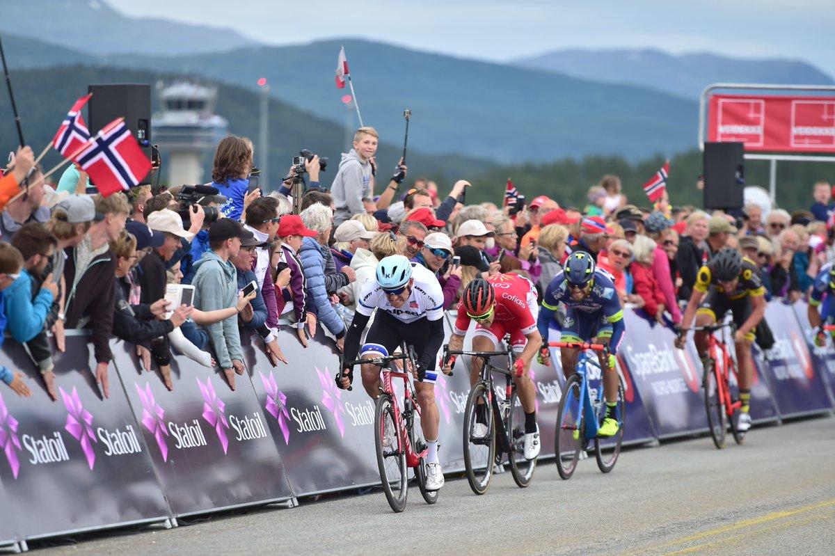 Alexander Kristoff vince la seconda tappa dell'Arctic Race of Norway