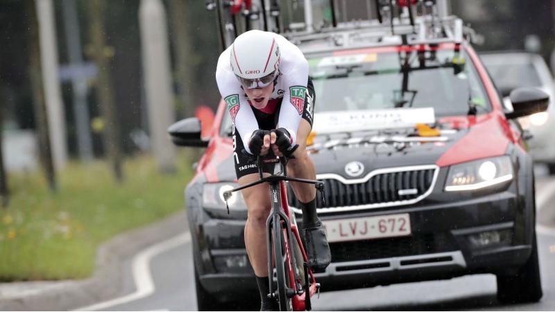 Stefan Küng vince la seconda tappa del BinckBank Tour 2017