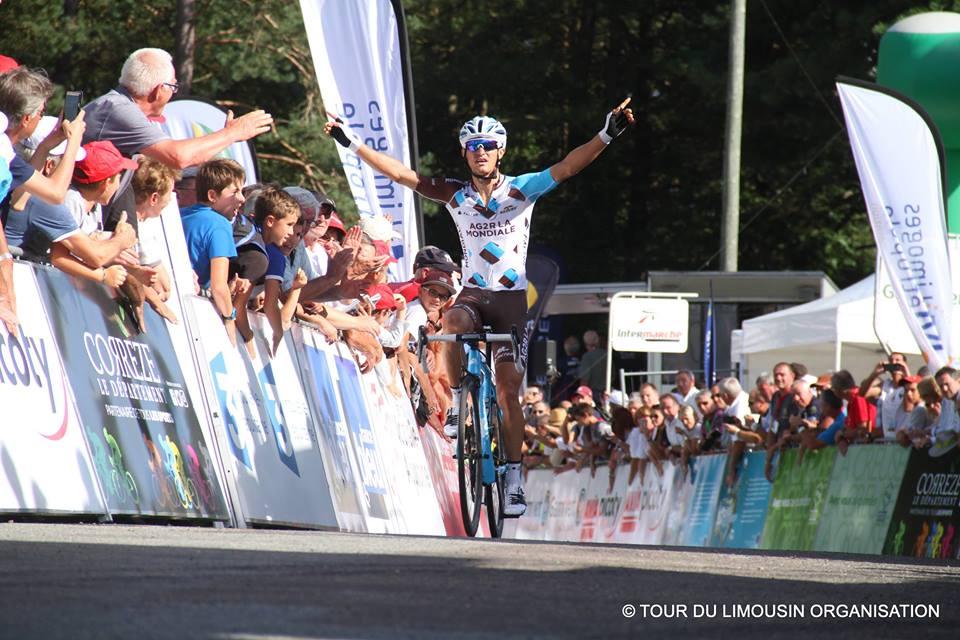 Alexis Vuillermoz vince la seconda tappa del Tour de Limousin