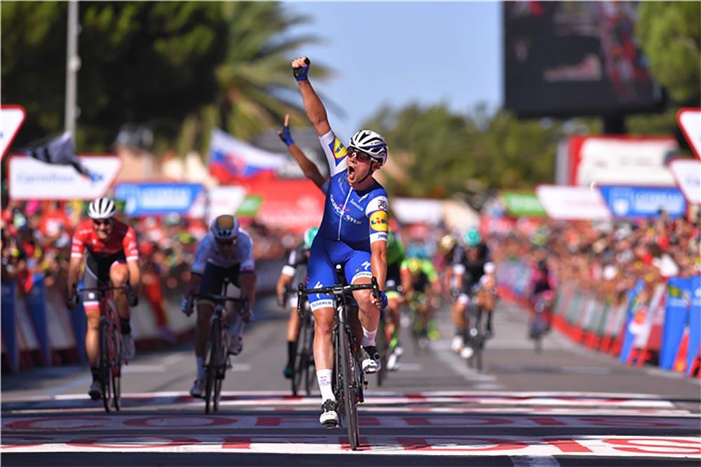 Yves Lampaert vince la seconda tappa a La Vuelta 2017