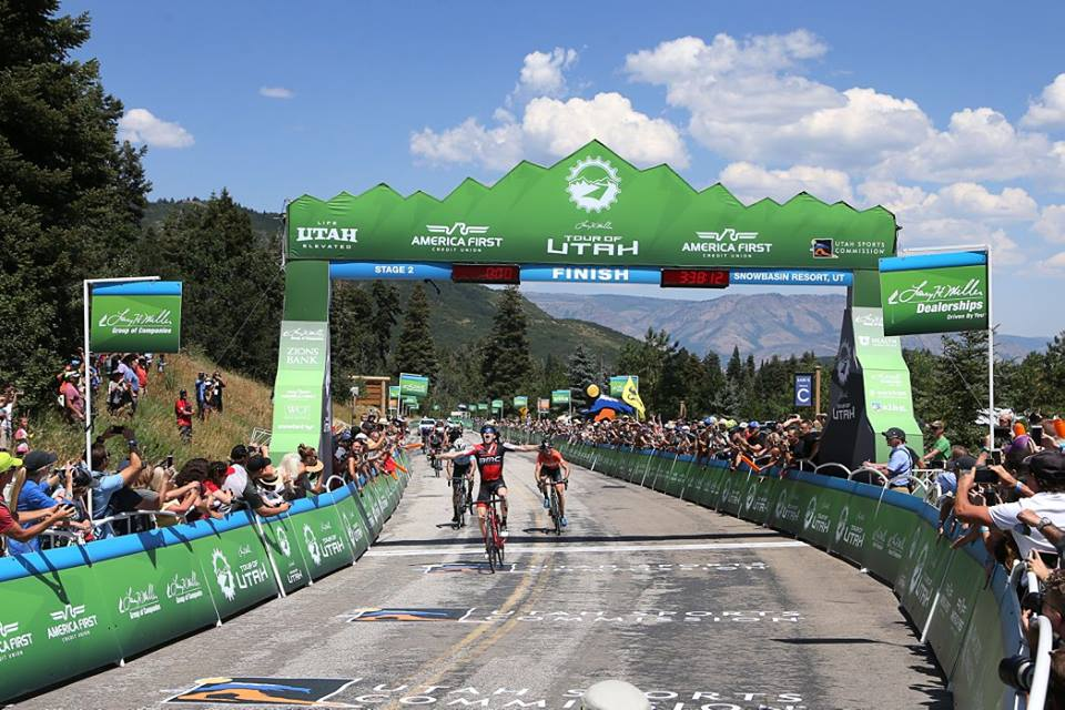 Brent Bookwalter vince la seconda tappa del Tour of Utah