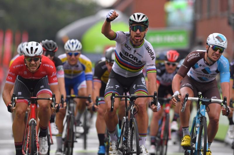 Peter Sagan vince la terza tappa del BinckBank Tour