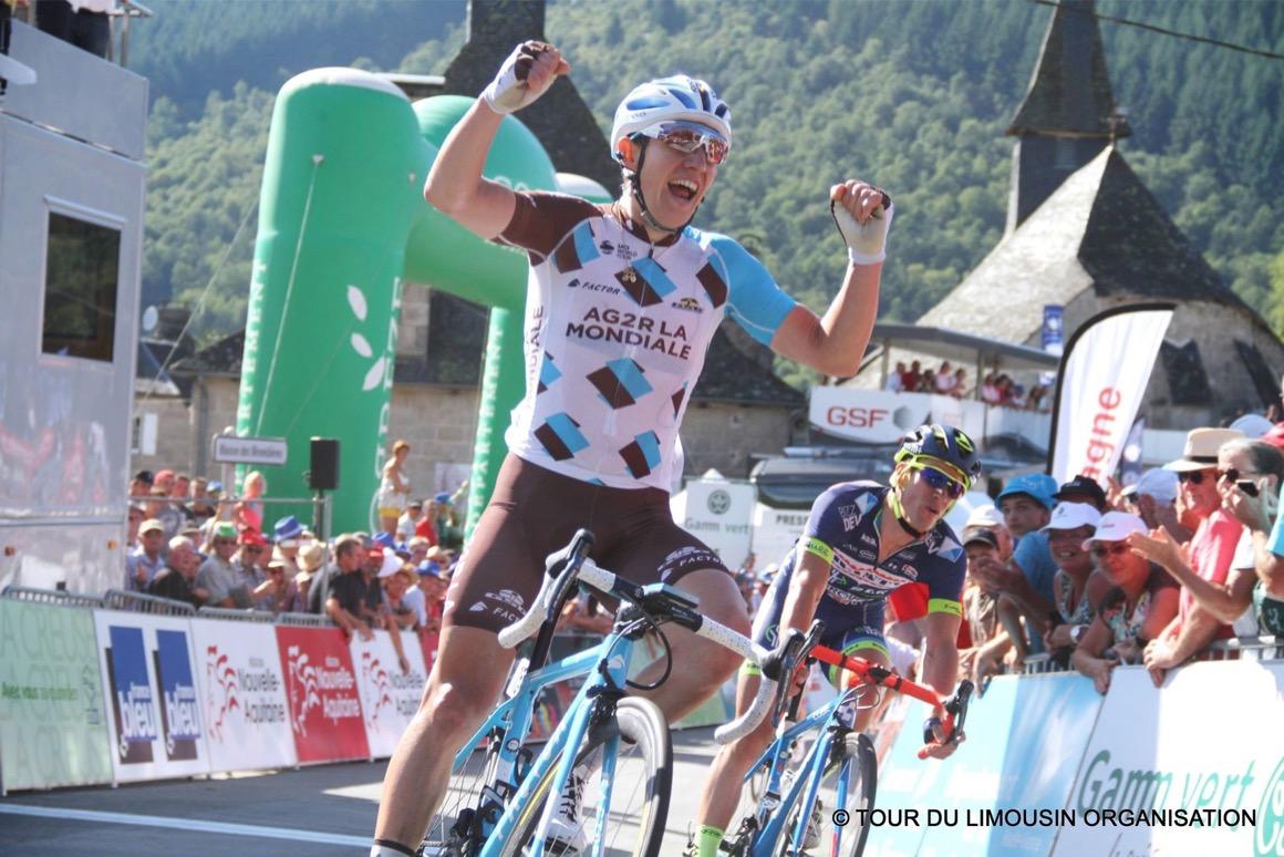 Cyril Gautier vince la terza tappa del Tour du Limousin